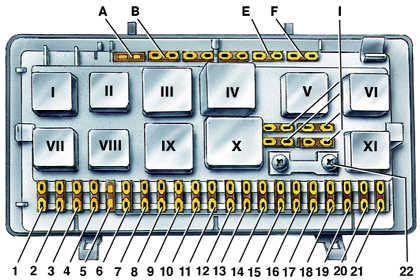 схема сигнализации аллигатор s250