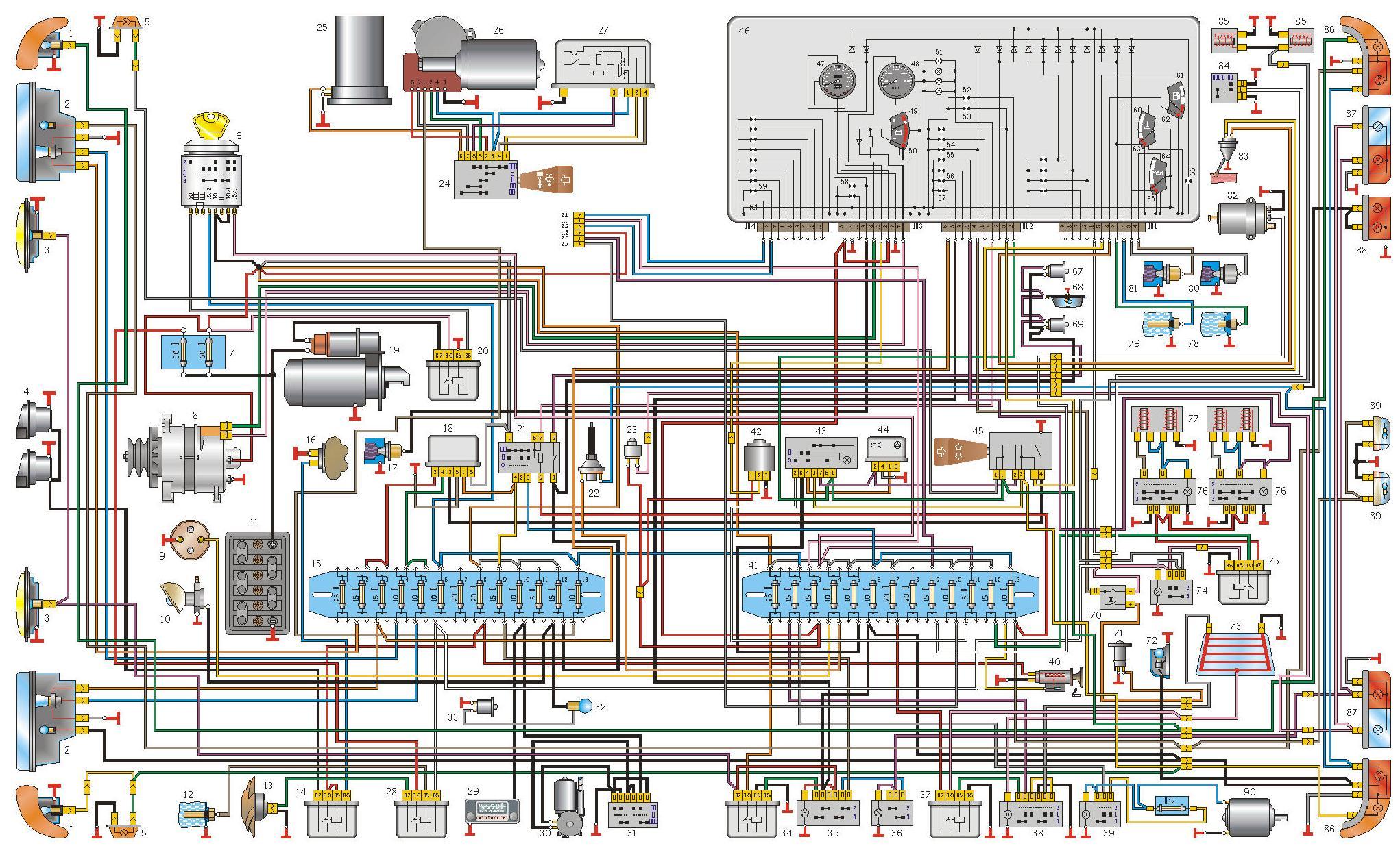 схема охлаждения двигателя 406 газель печки